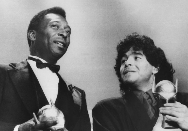 Pelé und Maradona