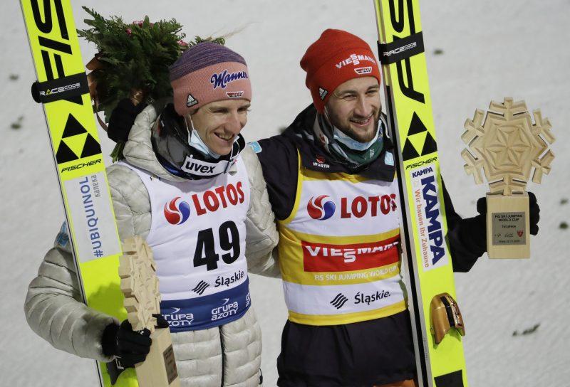 Eisenbichler und Geiger