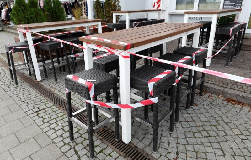 Restaurants bleiben dicht