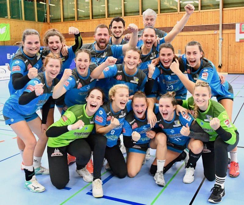 Zweites Spiel, zweiter Sieg in der 3. Handball-Liga für die Handball-Damen des ESV 1927 Regensburg Bunkerladies setzen klaren 28:17-Sieg bei Aufsteiger HSG Würm-Mitte