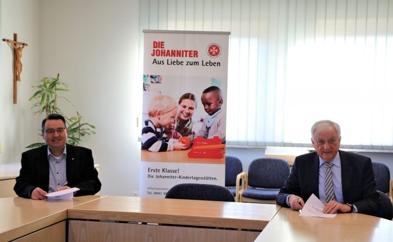 Kindergarten Waldeglofsheim unter neuer Trägerschaft Die Johanniter sind ab 1. Januar Träger des Waldkindergartens in Alteglofsheim