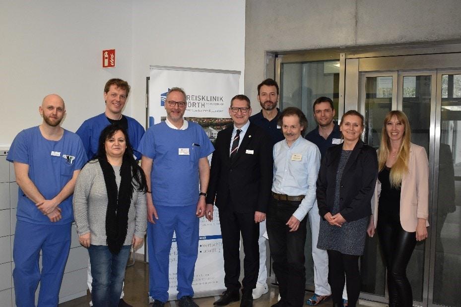 Zertifizierung zum Lokalen TraumaZentrum Kreisklinik Wörth a.d. Donau verbessert Patientenversorgung