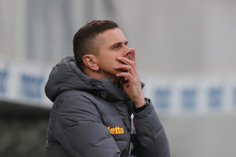 Der Regensburger Trainer Mersad Selimbegovic