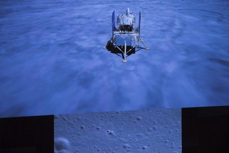Chinas Raumkapsel mit Mondgestein gelandet