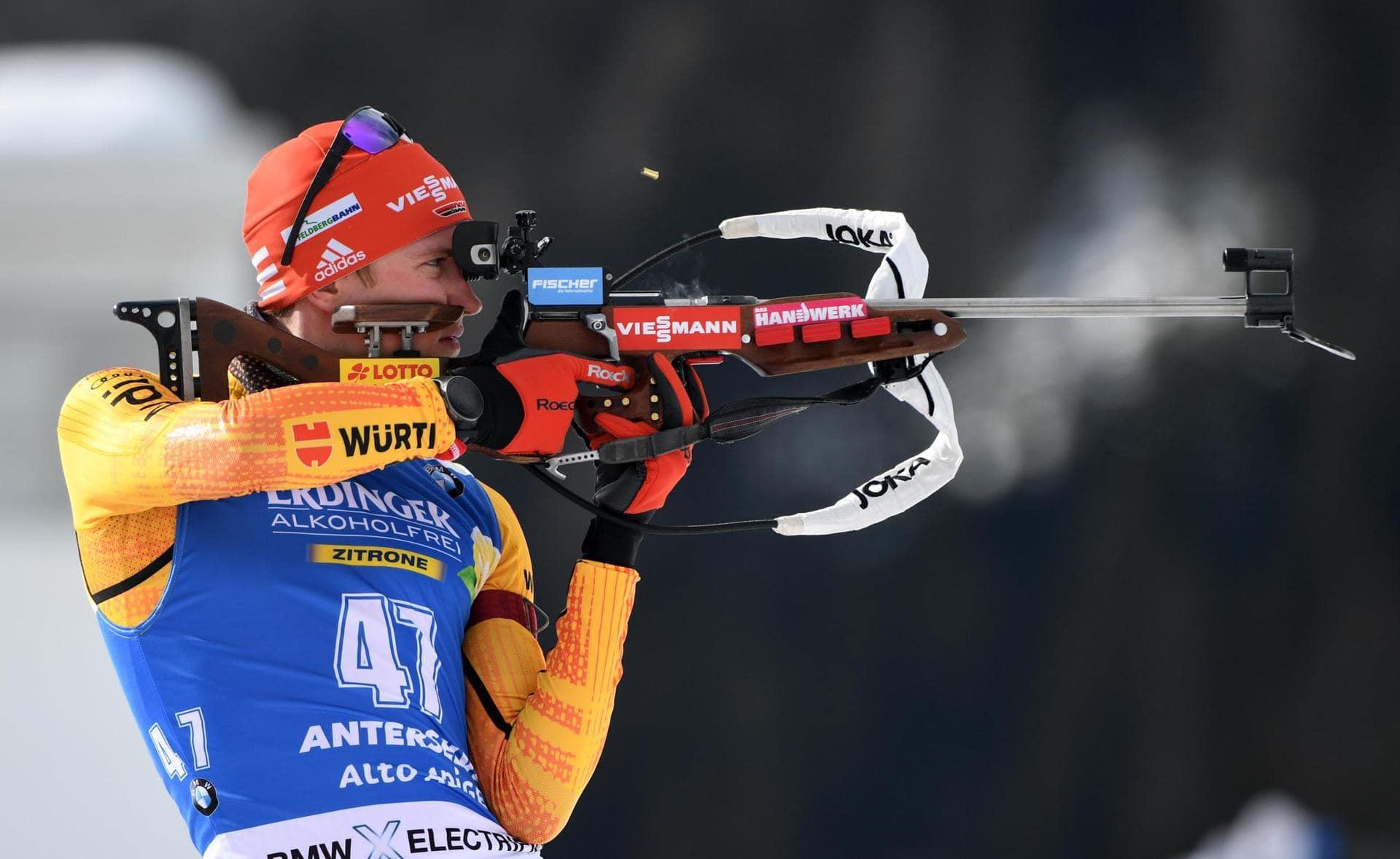 Preuß Sprint-Dritte in Hochfilzen Doll und Lesser in Top Ten Biathlon-Weltcup