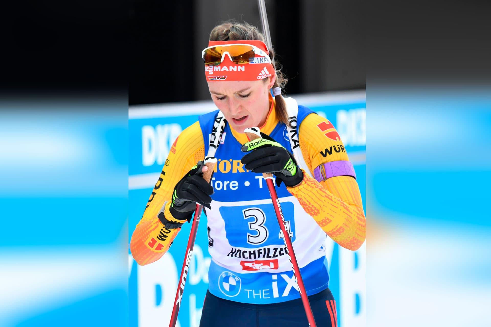 Frauen-Staffel beim Biathlon-Weltcup in Hochfilzen Vierte Norwegen siegt