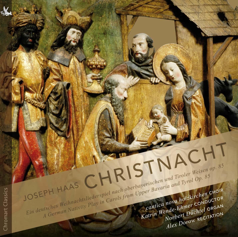 """Abseits vom """"Christmas Mainstream"""" Blizz verlost drei CDs """"Joseph Haas: Christnacht"""" von Wilhelm Dauffenbach"""