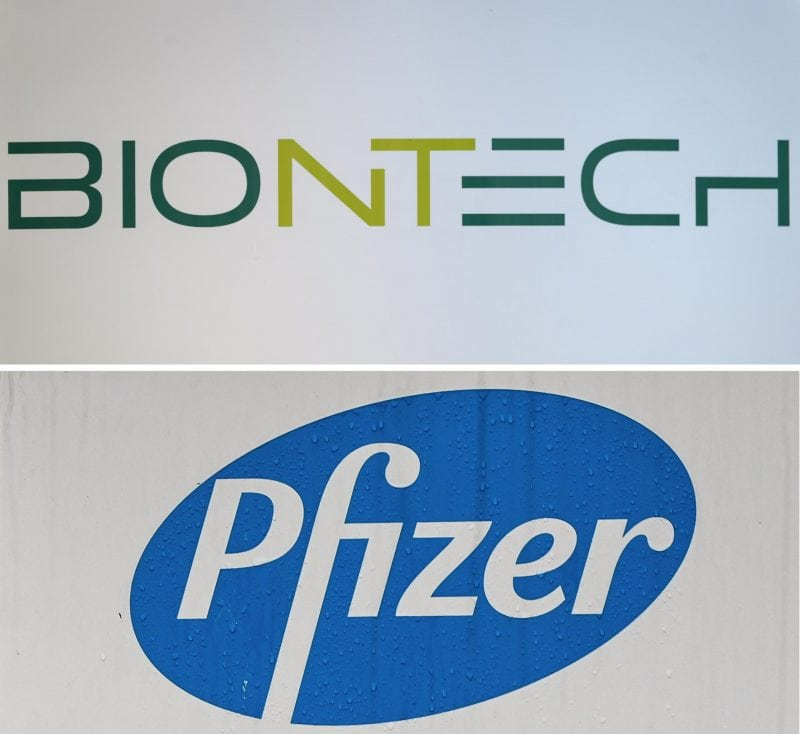 Biontech und Pfizer