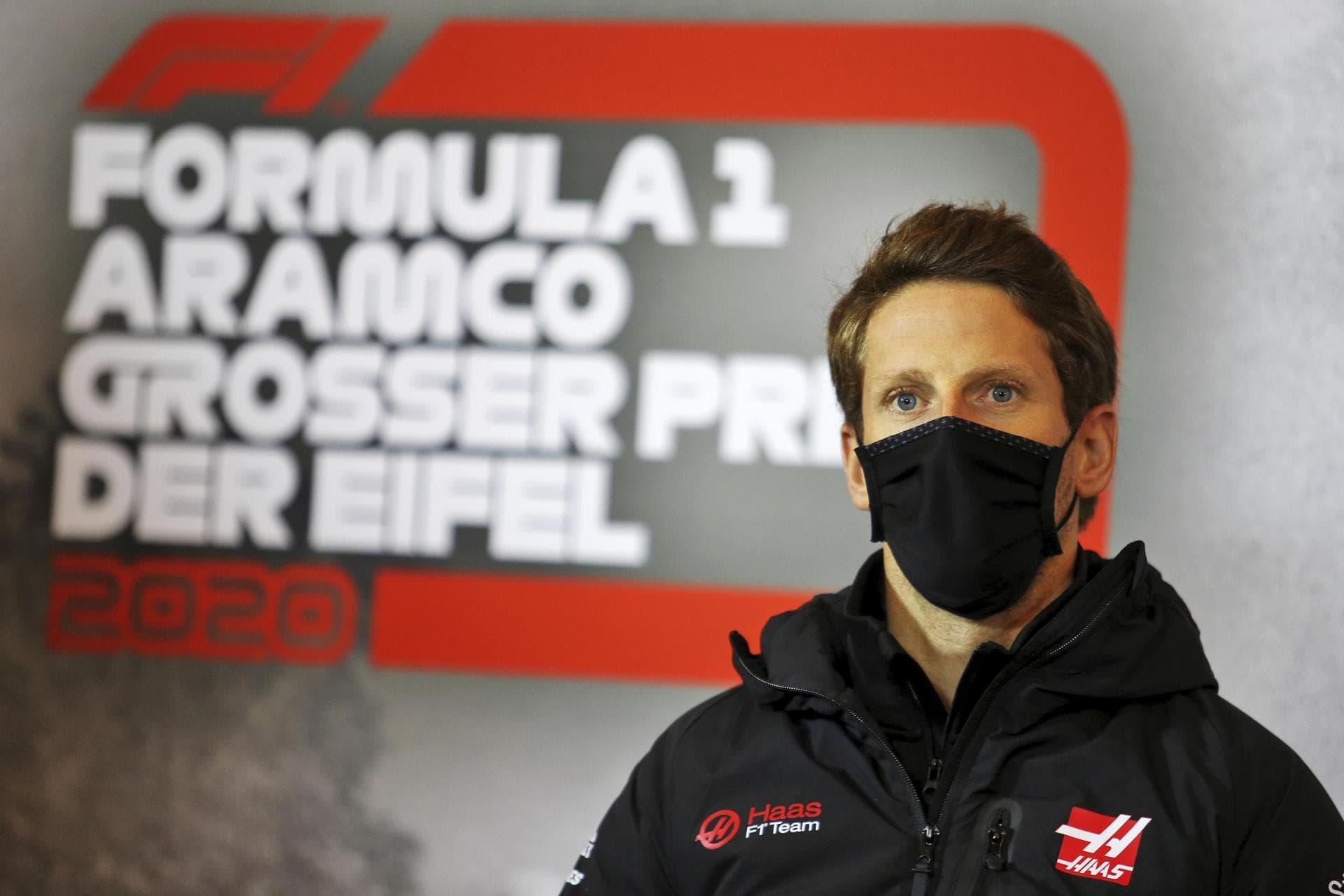Haas-Pilot Grosjean weiter im Hospital – sah «Tod kommen» Nach Feuer-Unfall in Bahrain