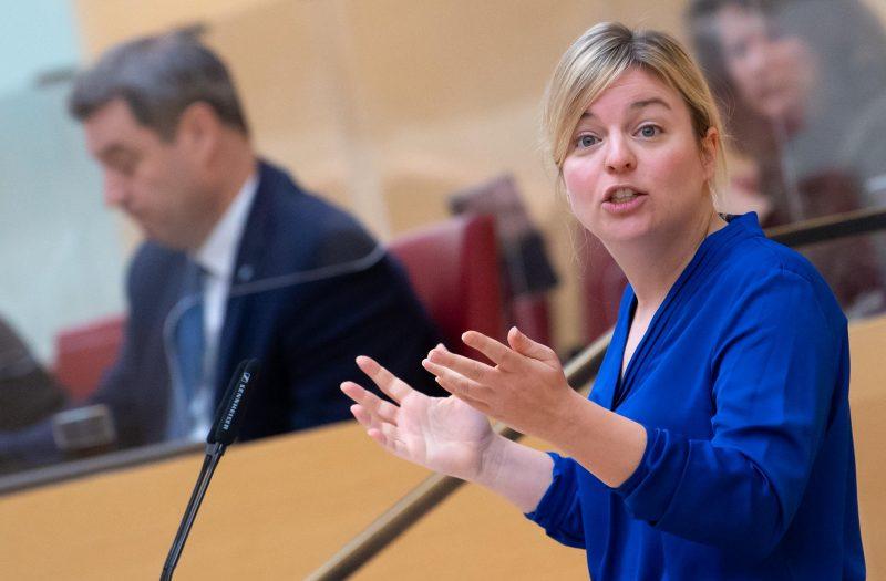 Katharina Schulze, Grünen-Fraktionsvorsitzende in Bayern