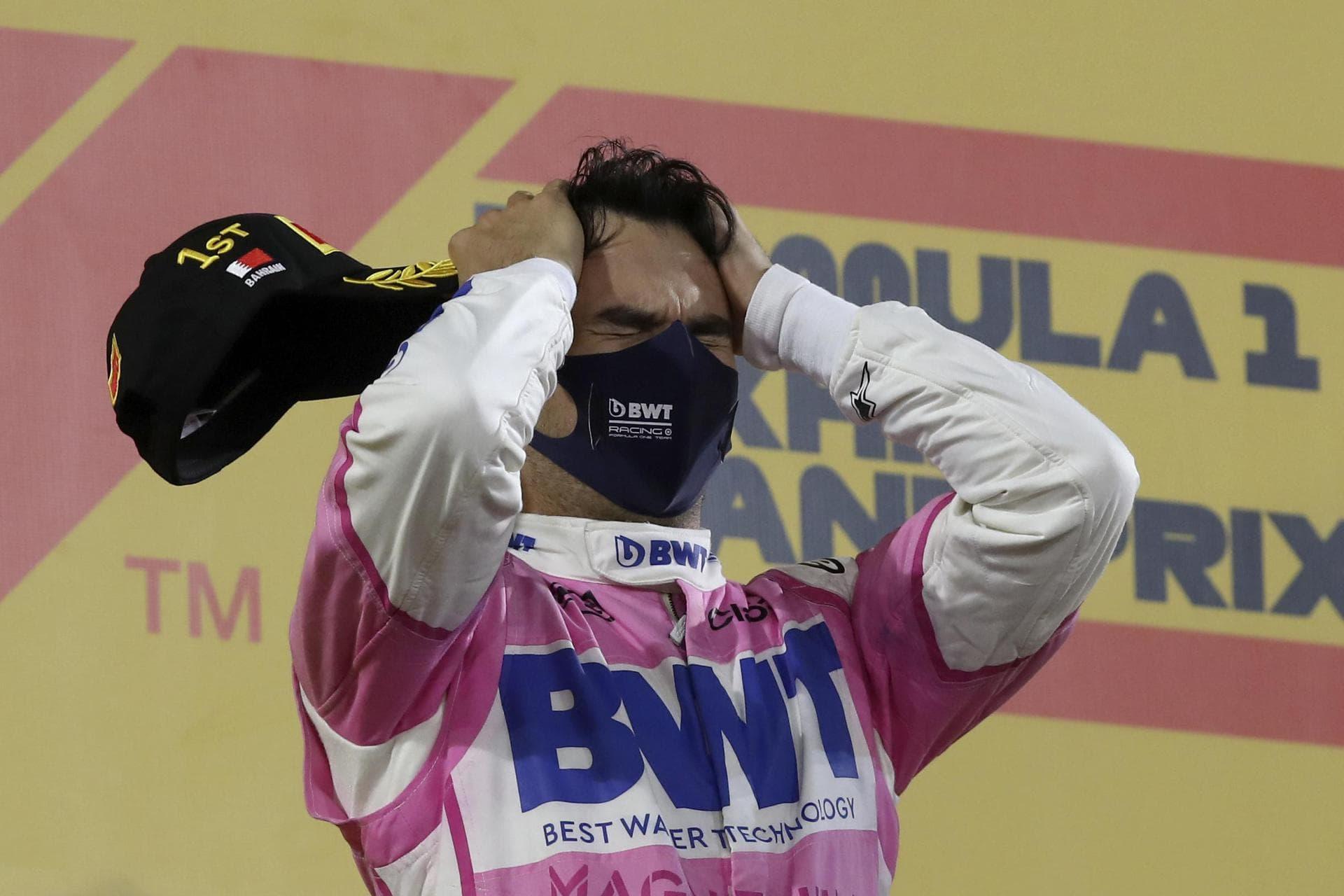 Mercedes-Pannen kosten Russell-Sieg: Perez siegt in Bahrain Großer Preis von Sakhir