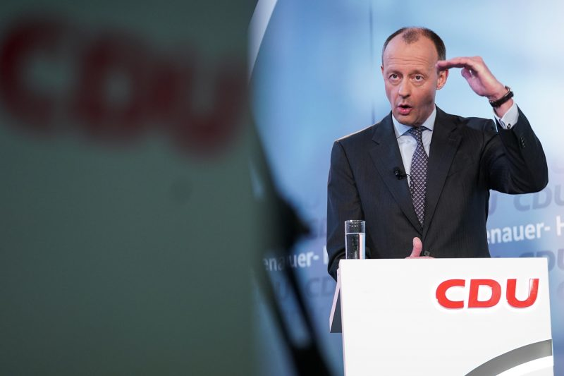 CDU-Vorsitzkandidat