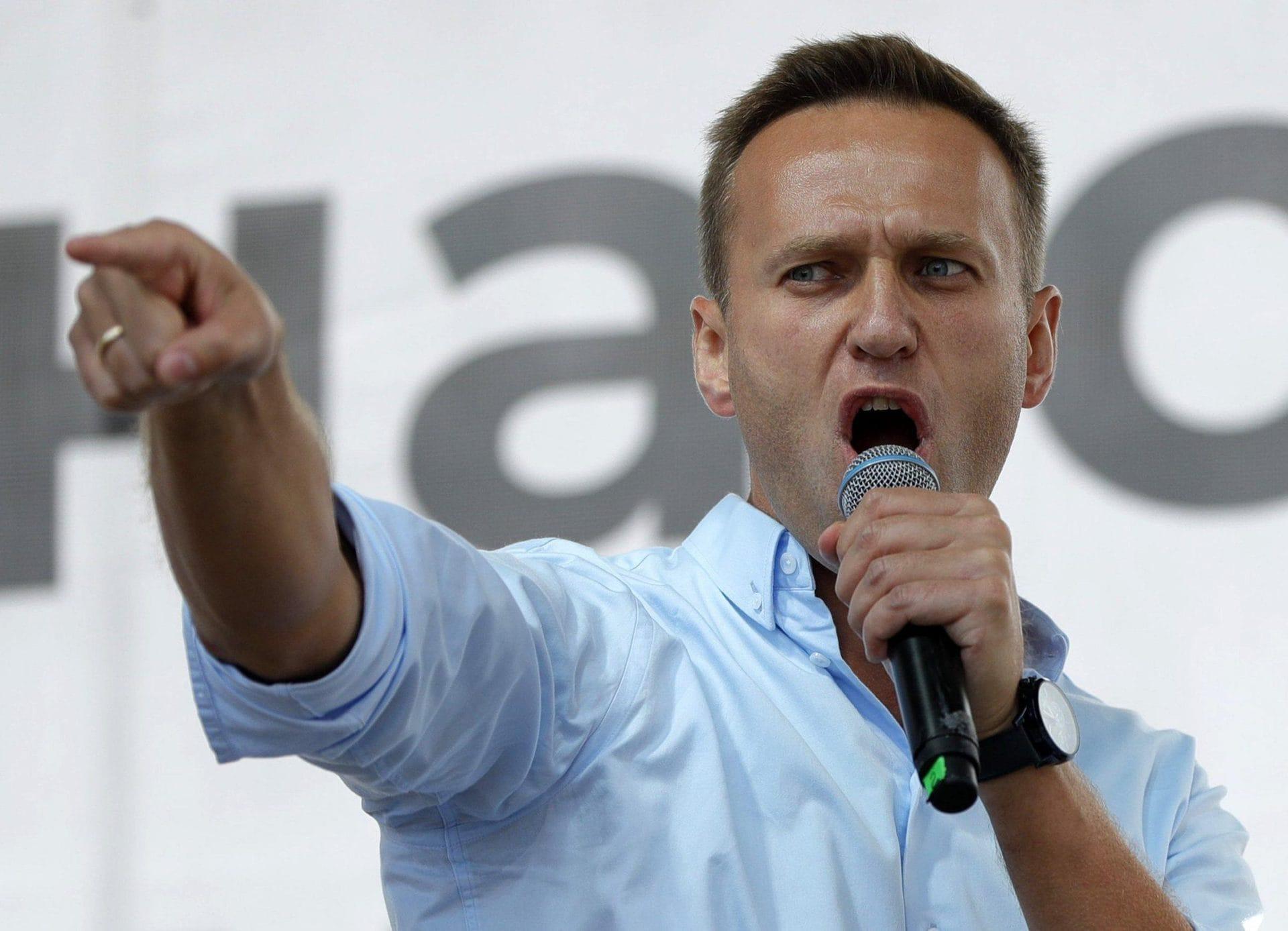 Nawalny wirft Putin «Staatsterrorismus» vor Nach Giftanschlag