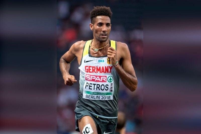 Petros rennt deutschen Marathon Rekord