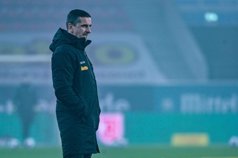 Trainer Mersad Selimbegovic von Regensburg