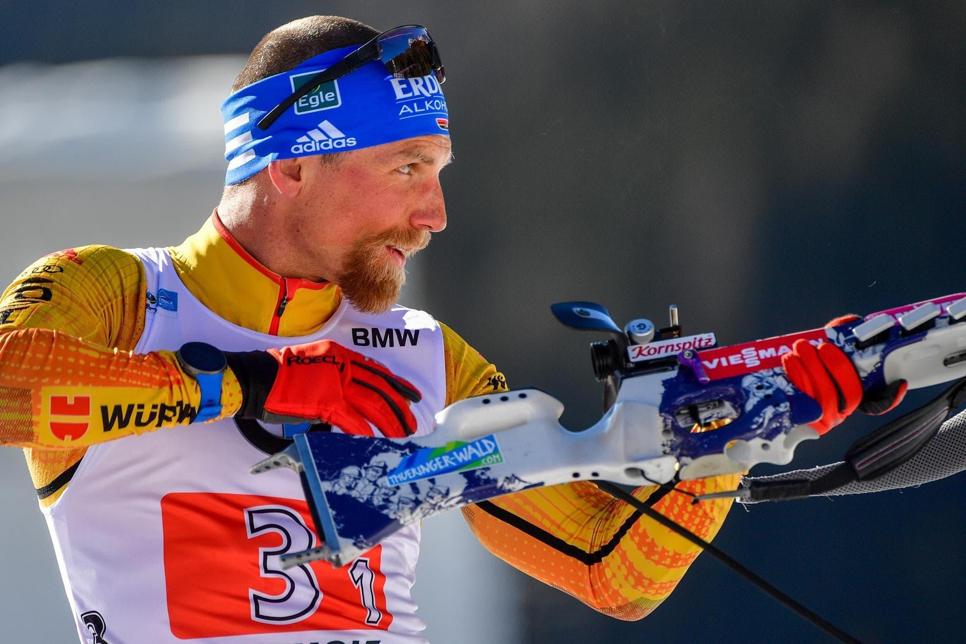 Skijäger Lesser und Hammerschmidt laufen befreit auf Biathlon-Weltcup