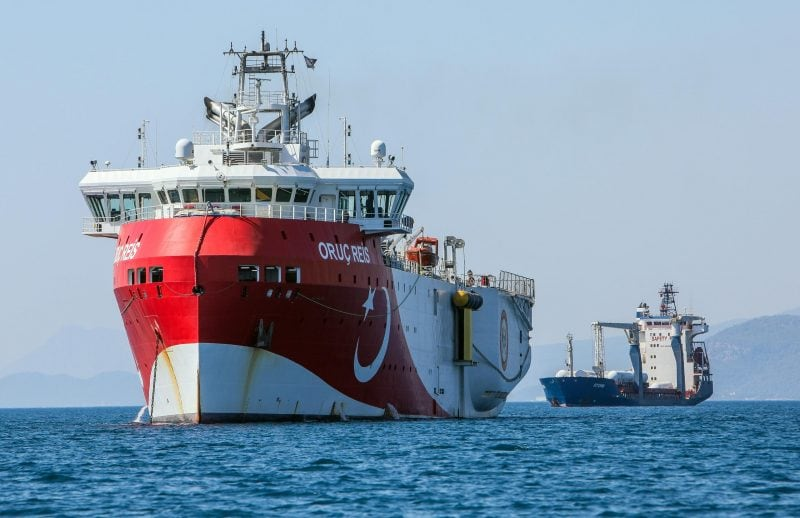 Forschungsschiff «Oruc Reis»