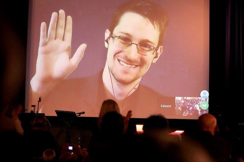 Snowden ist Vater geworden