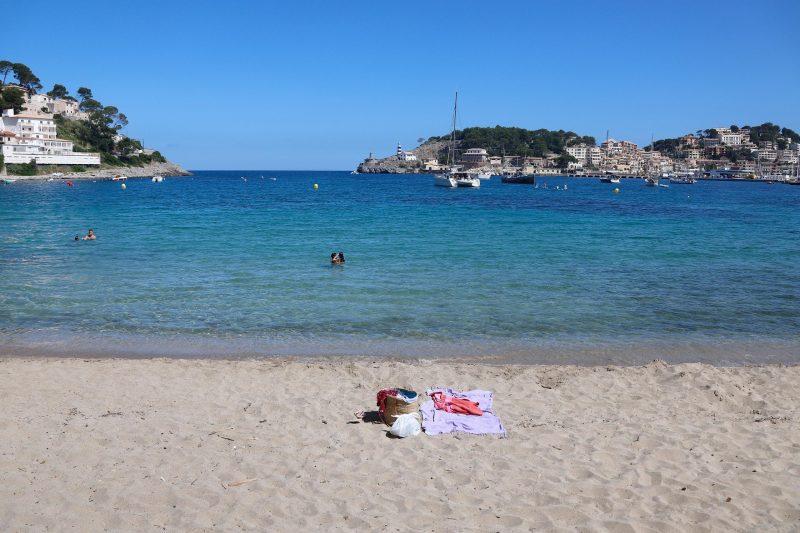 Leerer Strand auf Mallorca