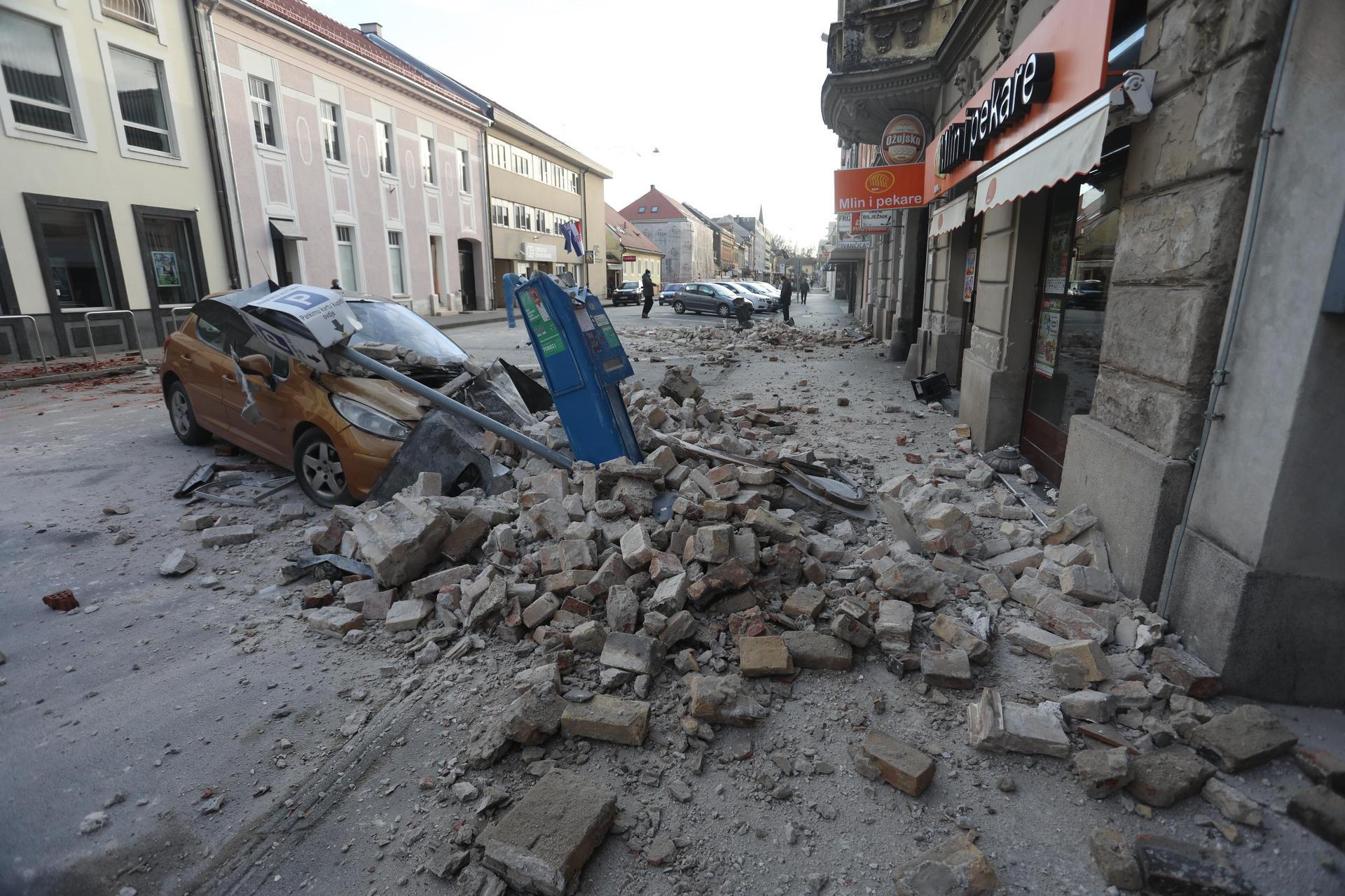 Weitere Erdbeben in Kroatien Bevölkerung in Angst