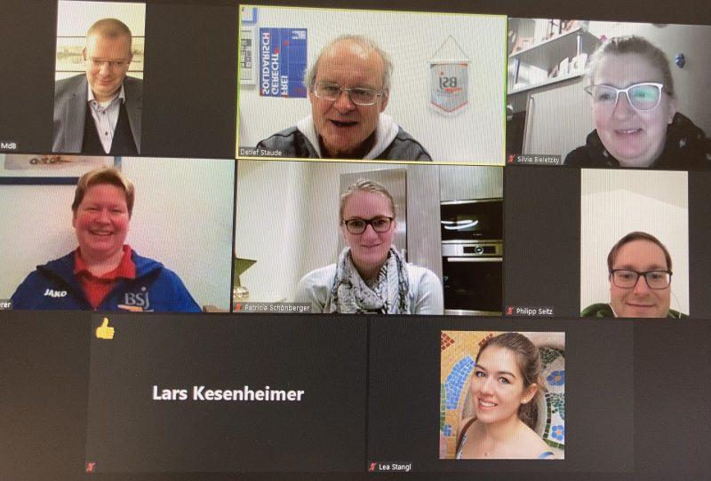 Webinar Sportjugend Regensburg mit Ulrich Lechte