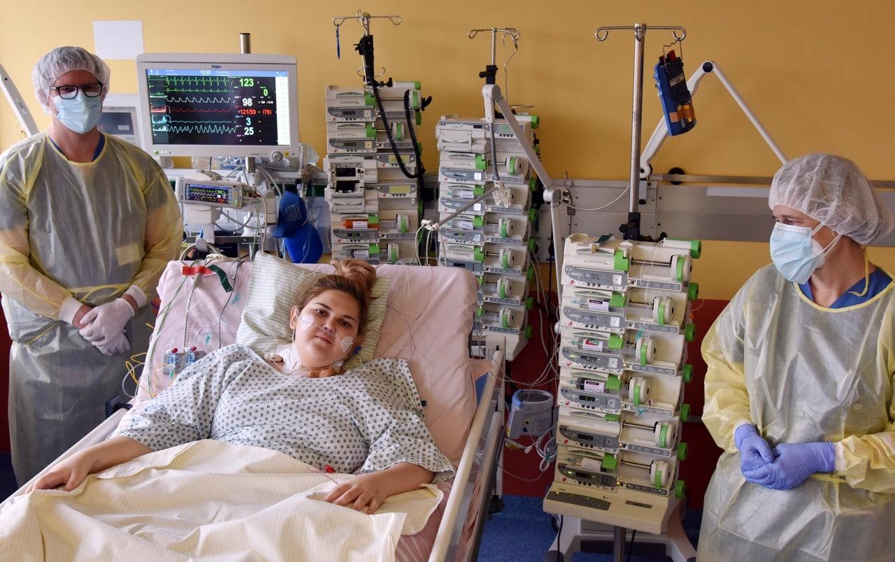 """Spenderherz rettet das Leben von Andrada in letzter Minute 16-Jährige litt unter lebensbedrohlicher Herzmuskelschwäche – sie ist """"unendlich dankbar"""" für Transplantation"""