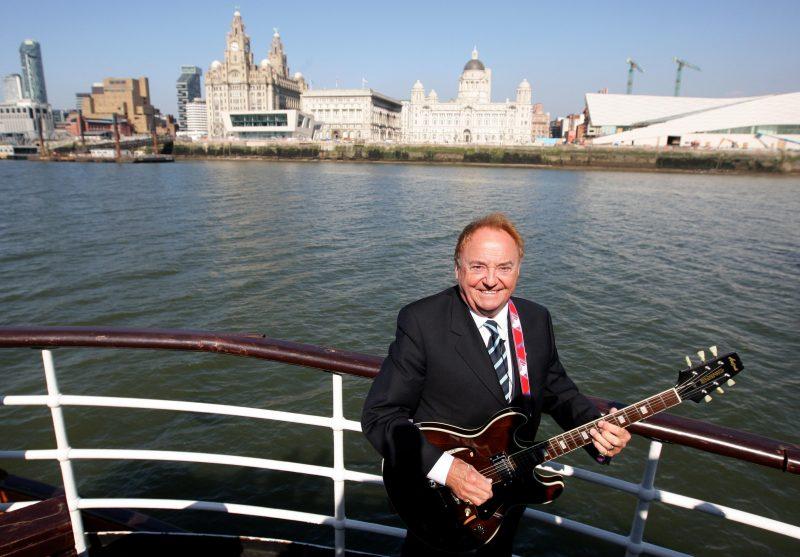 Sänger Gerry Marsden