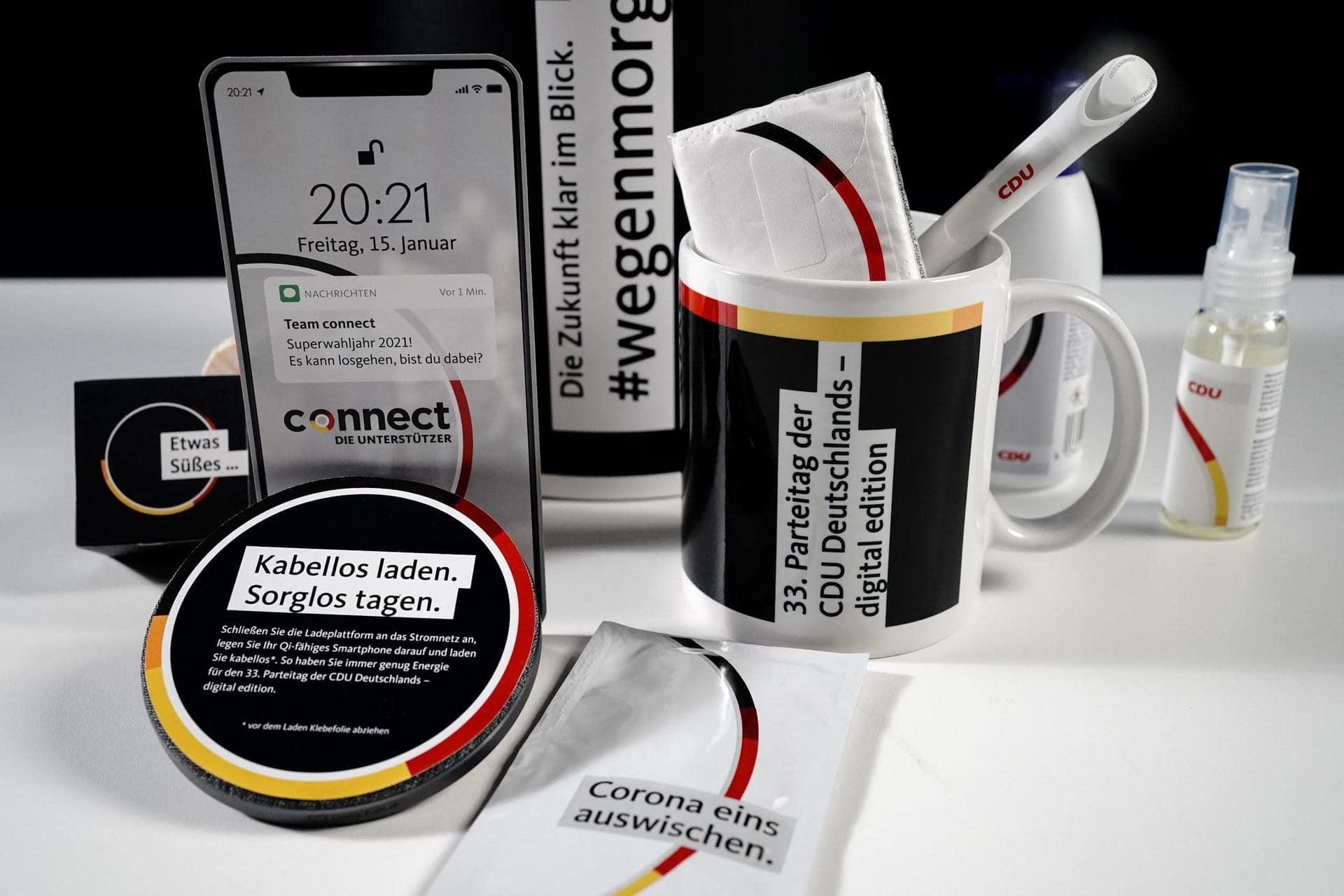 CDU-Gremien bereiten digitalen Wahlparteitag vor Wer wird neuer Parteichef?