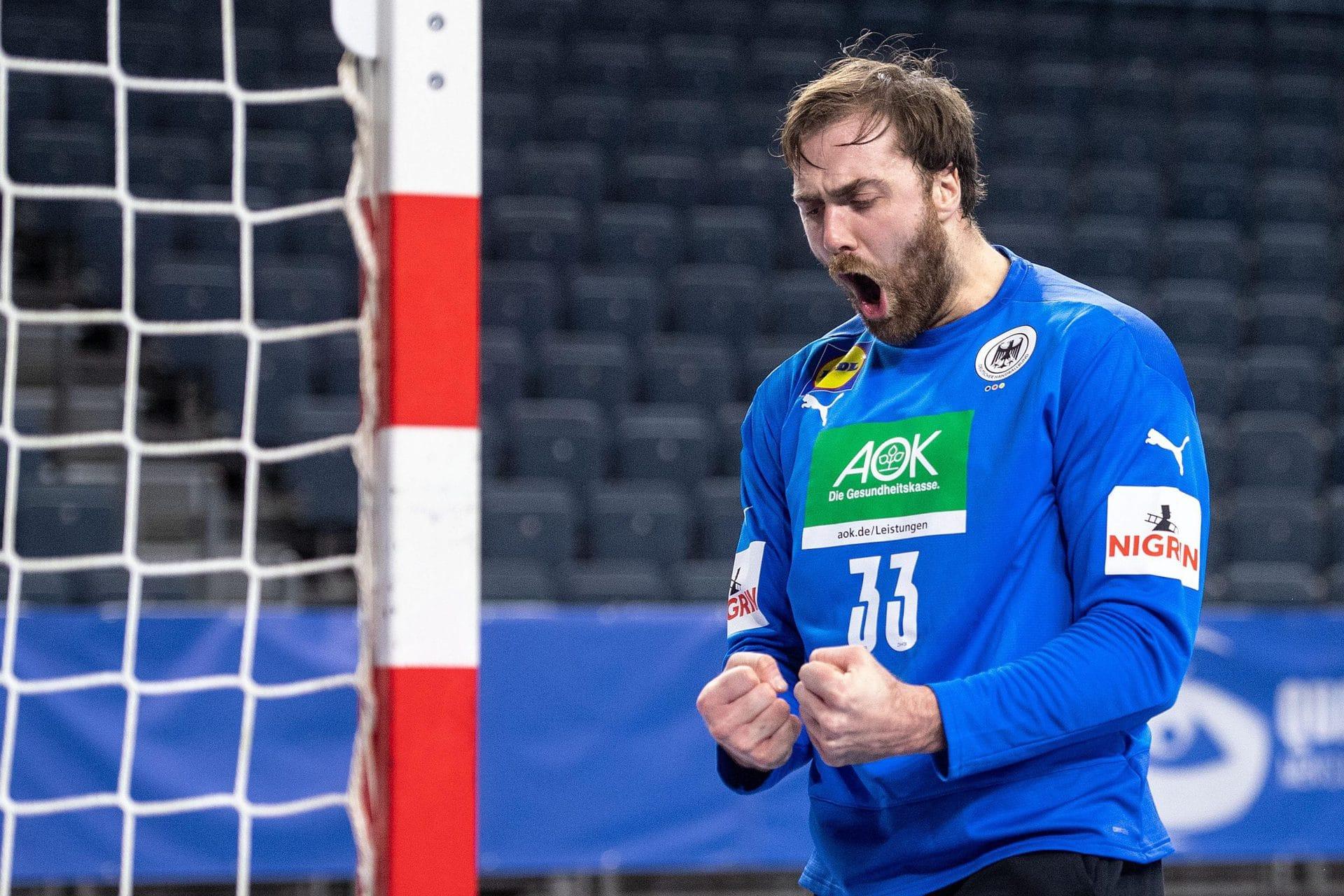 Deutsche Handballer gegen Ungarn wieder mit Wolff im Tor WM in Ägypten