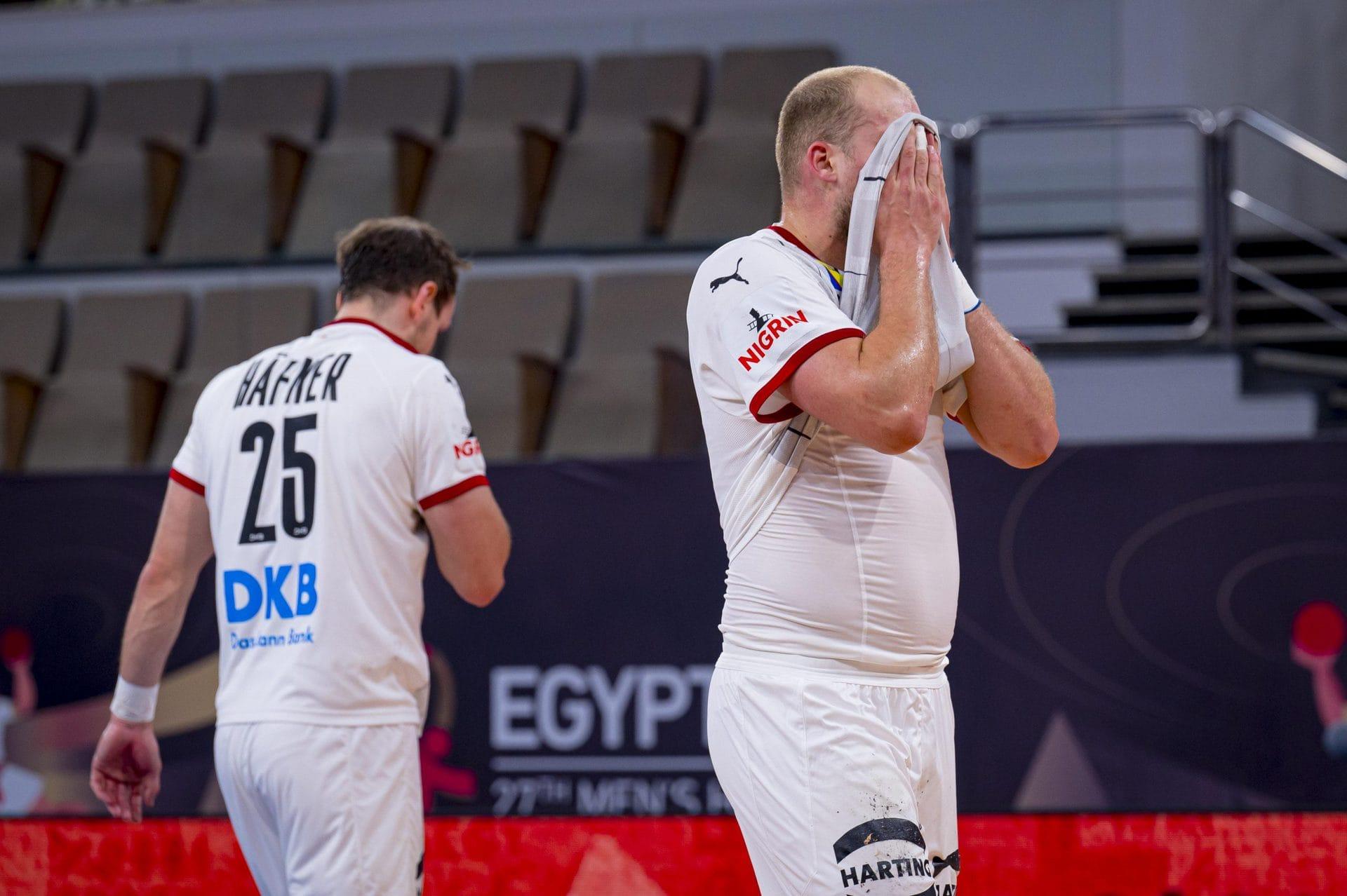 Deutschen Handballern bleibt Minimalchance WM in Ägypten