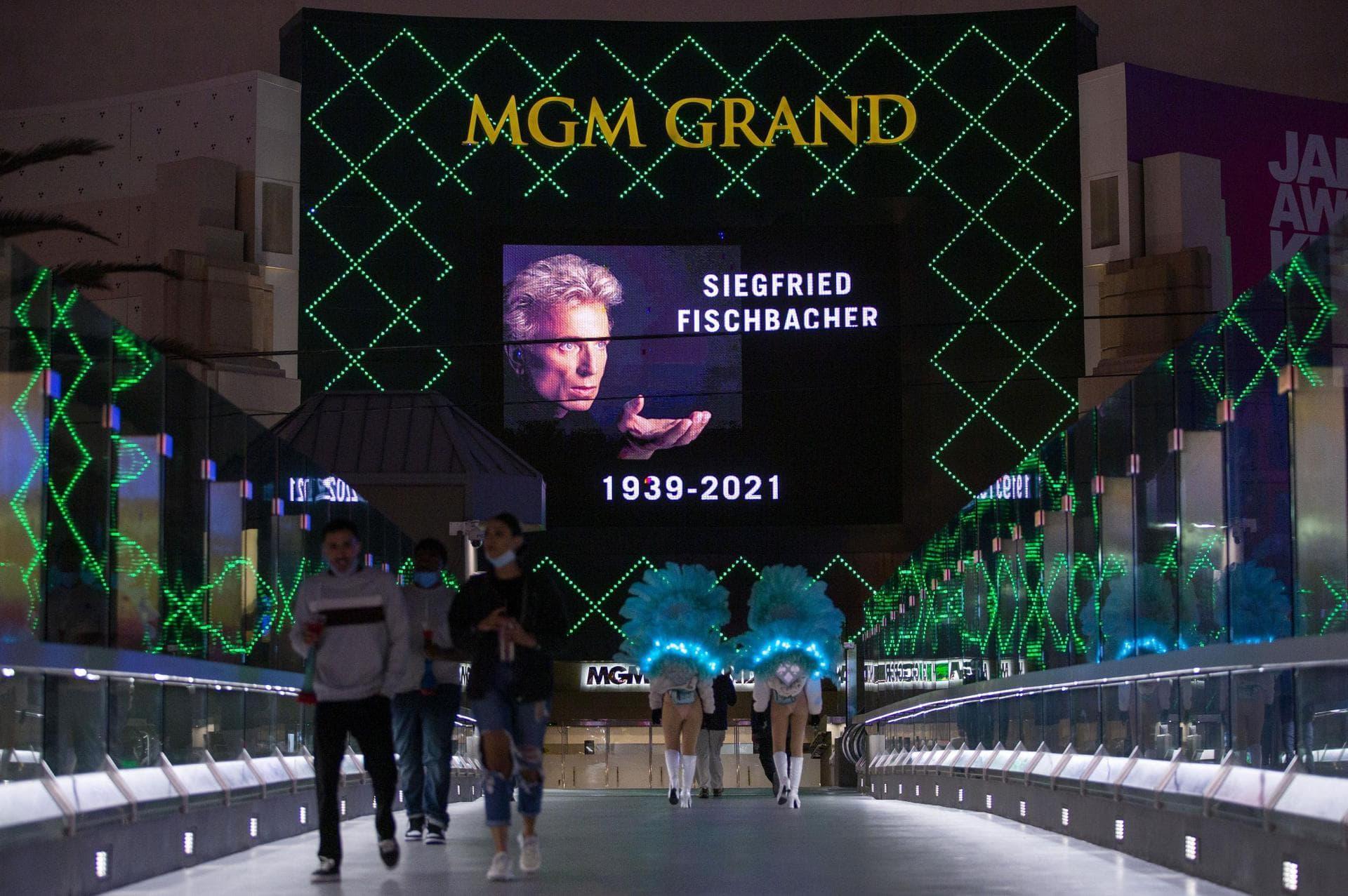 Las Vegas würdigt Magier Siegfried Fischbacher «Ende einer Ära»