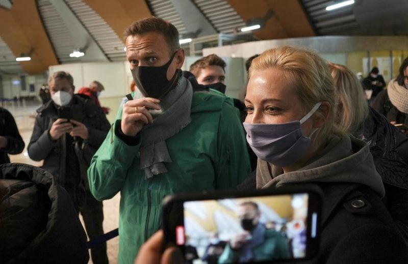 Alexej Nawalny in Haft
