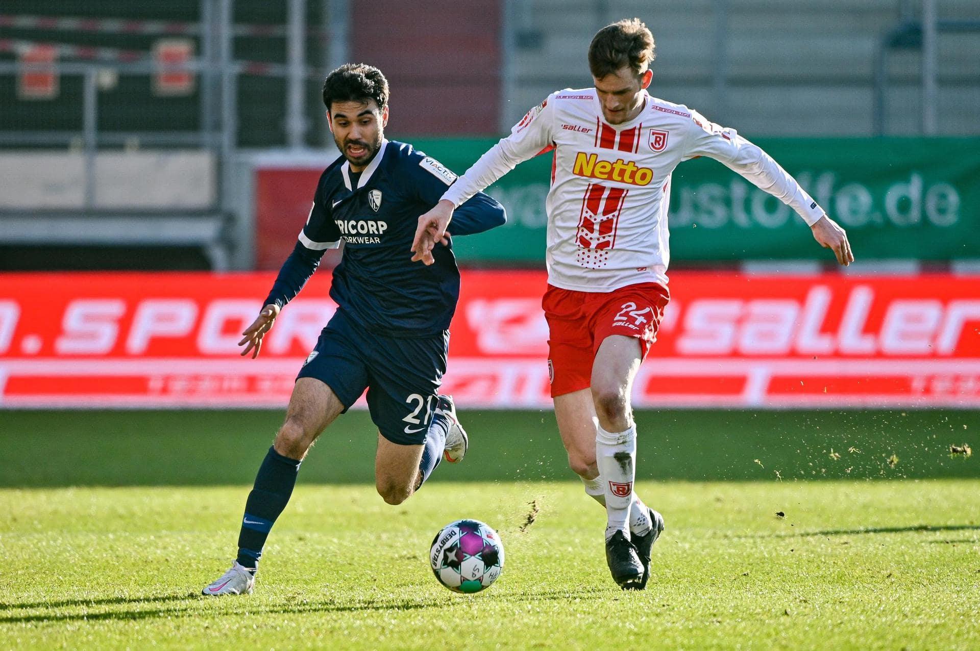 Regensburg kassiert Heimniederlage 0:2 gegen VfL Bochum