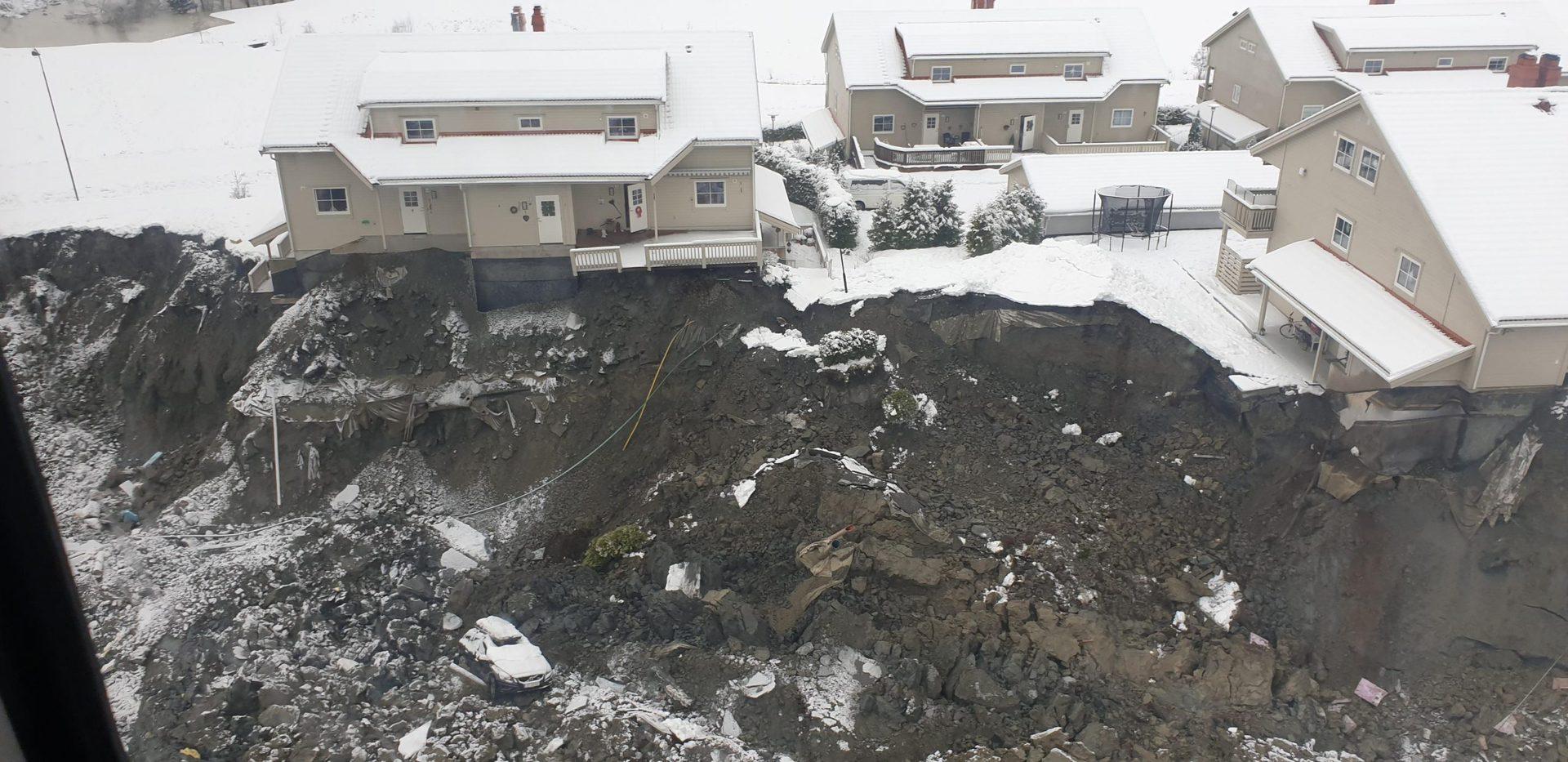 Weiteres Todesopfer nach Erdrutsch in Norwegen gefunden Nach drei Tagen