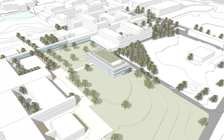 """Bau des """"Regensburg Center for Ultrafast Nanoscopy"""" An der Universität Regensburg entsteht ein Zentrum zur Erforschung des Nanokosmos"""