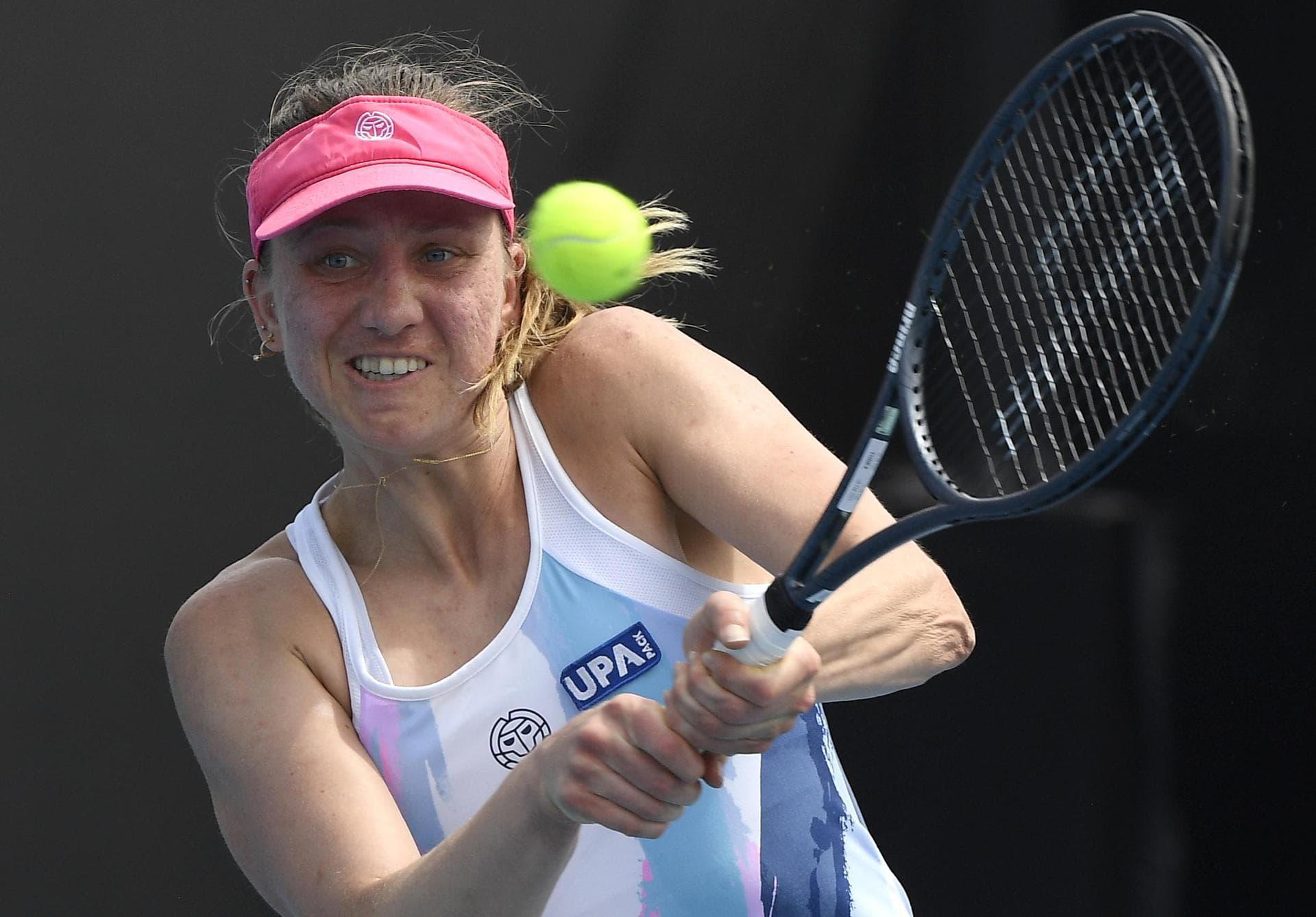Barthel als letzte deutsche Tennisspielerin ausgeschieden Australian Open