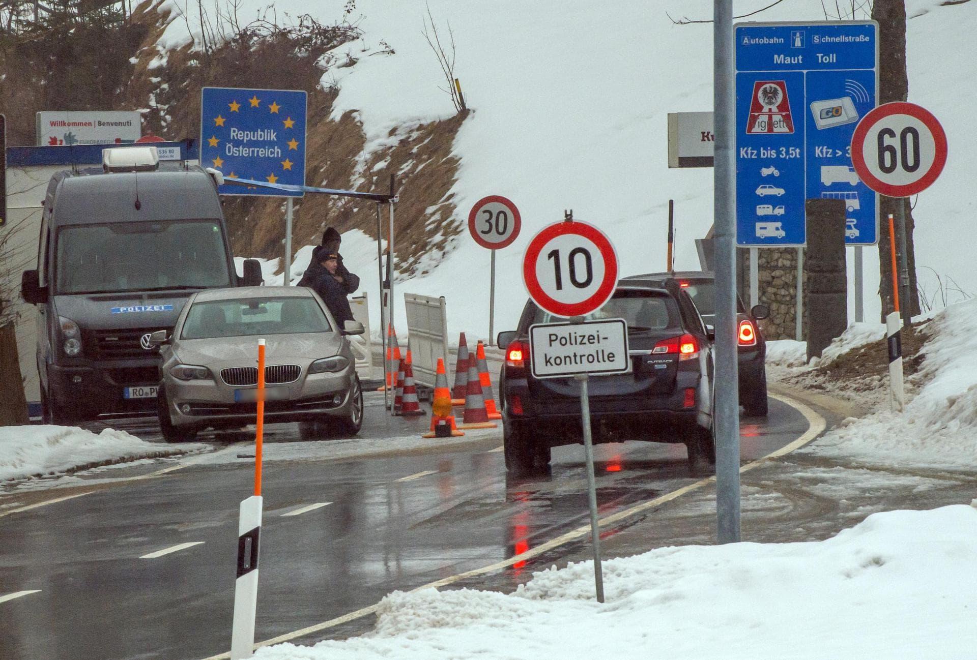 Bescheinigung für Grenzgänger Warnung vor Grenzschließung