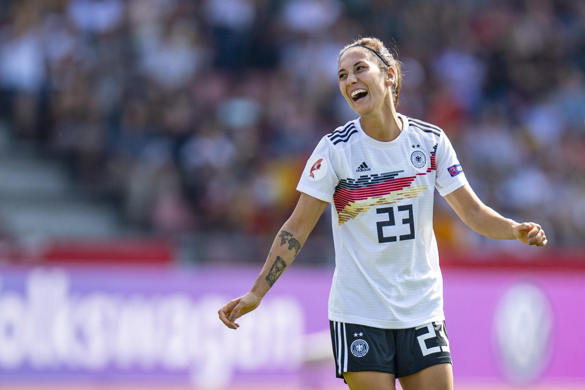 Doorsoun: Soll nie Thema sein, ob Mädels kicken dürfen Frauen-Fußball