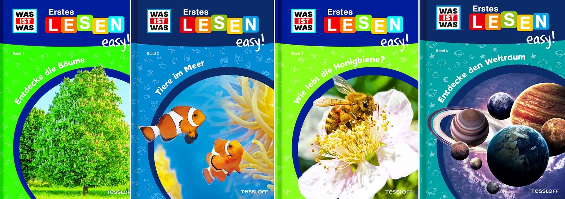 """Lernspaß im Lockdown – Neue Buchreihe für Leseanfänger Blizz verlost 3 x 4 Sachbücher aus der Buchreihe """"Erstes Lesen easy!"""" aus dem Tessloff Verlag"""