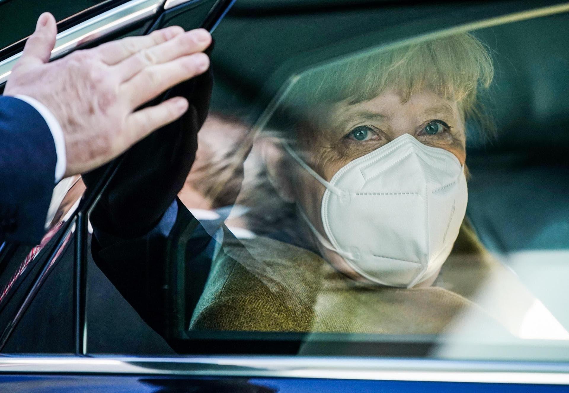 Gedämpfte Erwartungen vor «Impfgipfel» bei Merkel Spitzentreffen