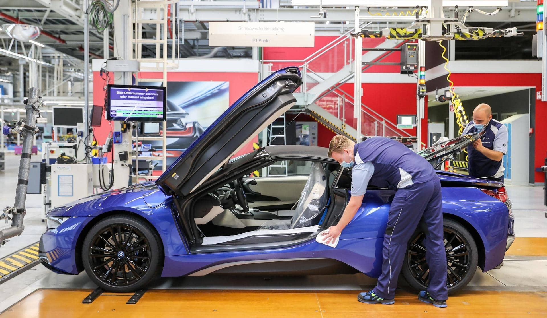 Keine Probleme durch Grenzkontrollen bei BMW und Audi Werke sind versorgt und produzieren planmäßig