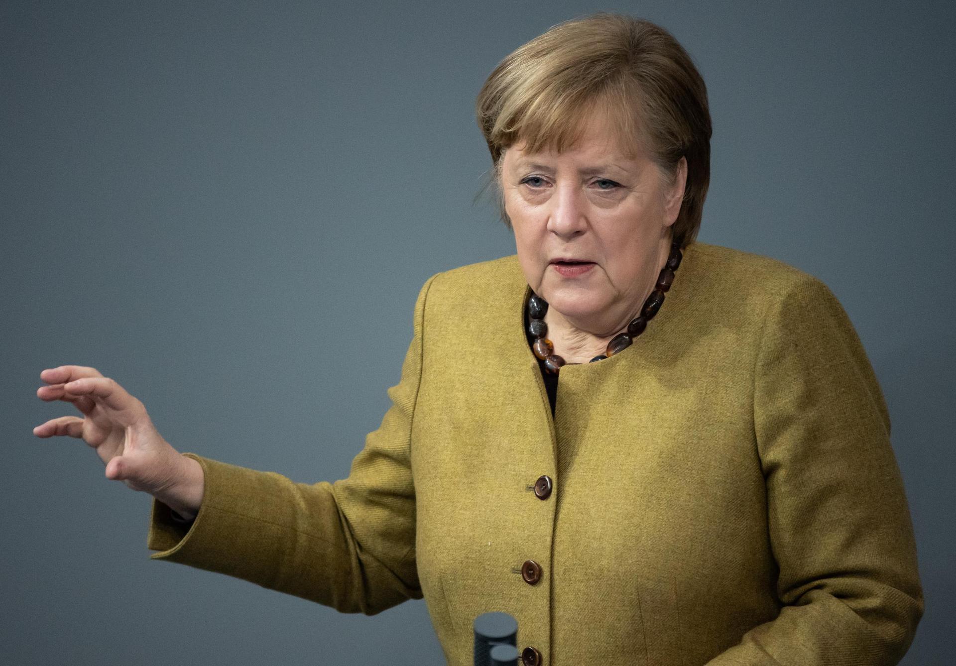 Merkel: Waren bei zweiter Welle nicht vorsichtig genug Regierungserklärung