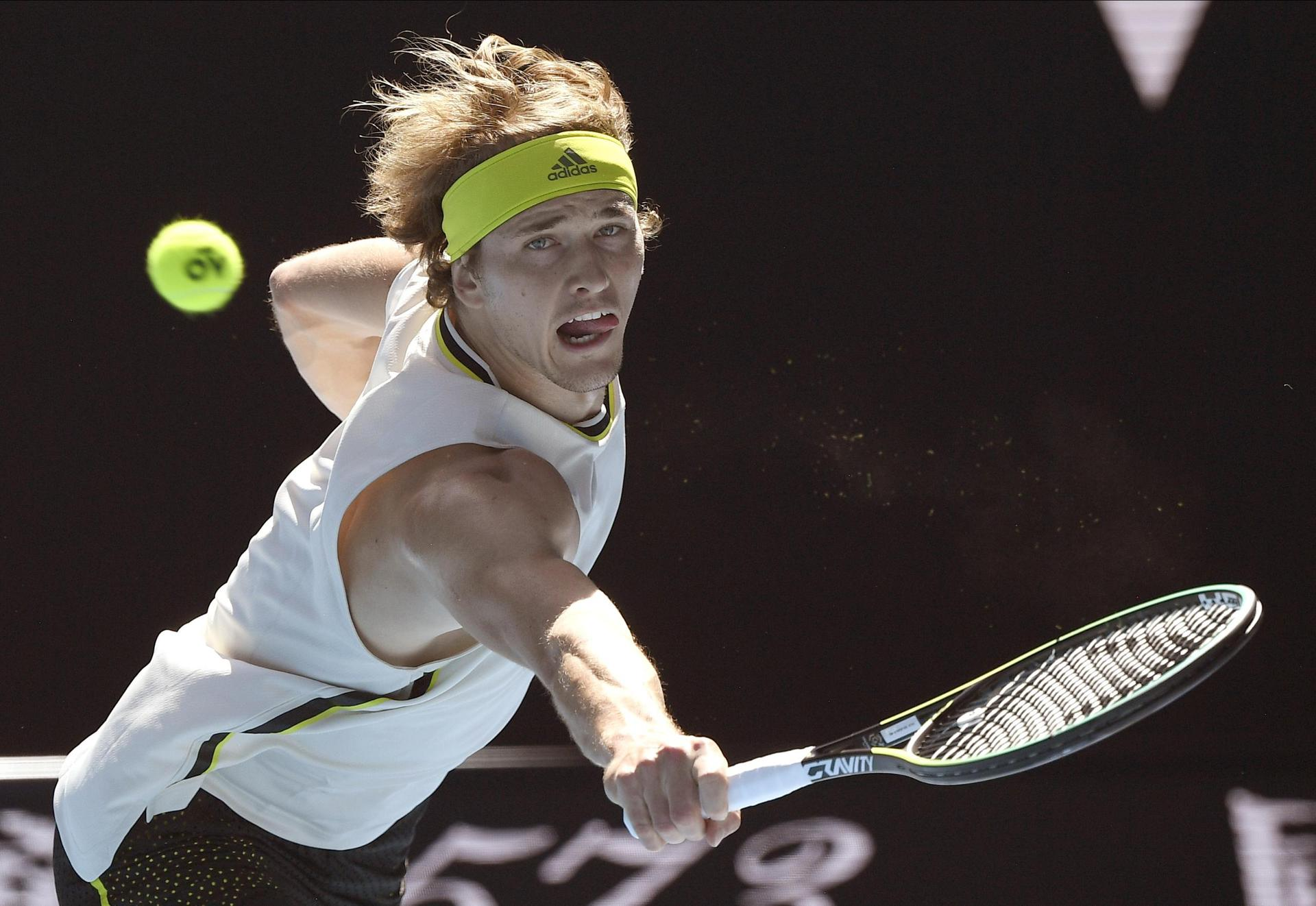 Starker Zverev in Melbourne im Achtelfinale Australian Open
