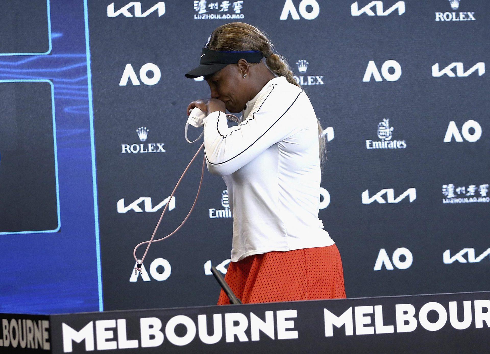 Wieder gescheitert: Williams verabschiedet sich mit Tränen Australian Open