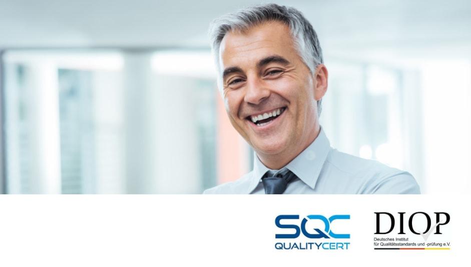 """Zertifizierung mit Qualitätssiegel Label Online zeichnet unsere Siegel mit """"Besonders empfehlenswert"""" aus"""