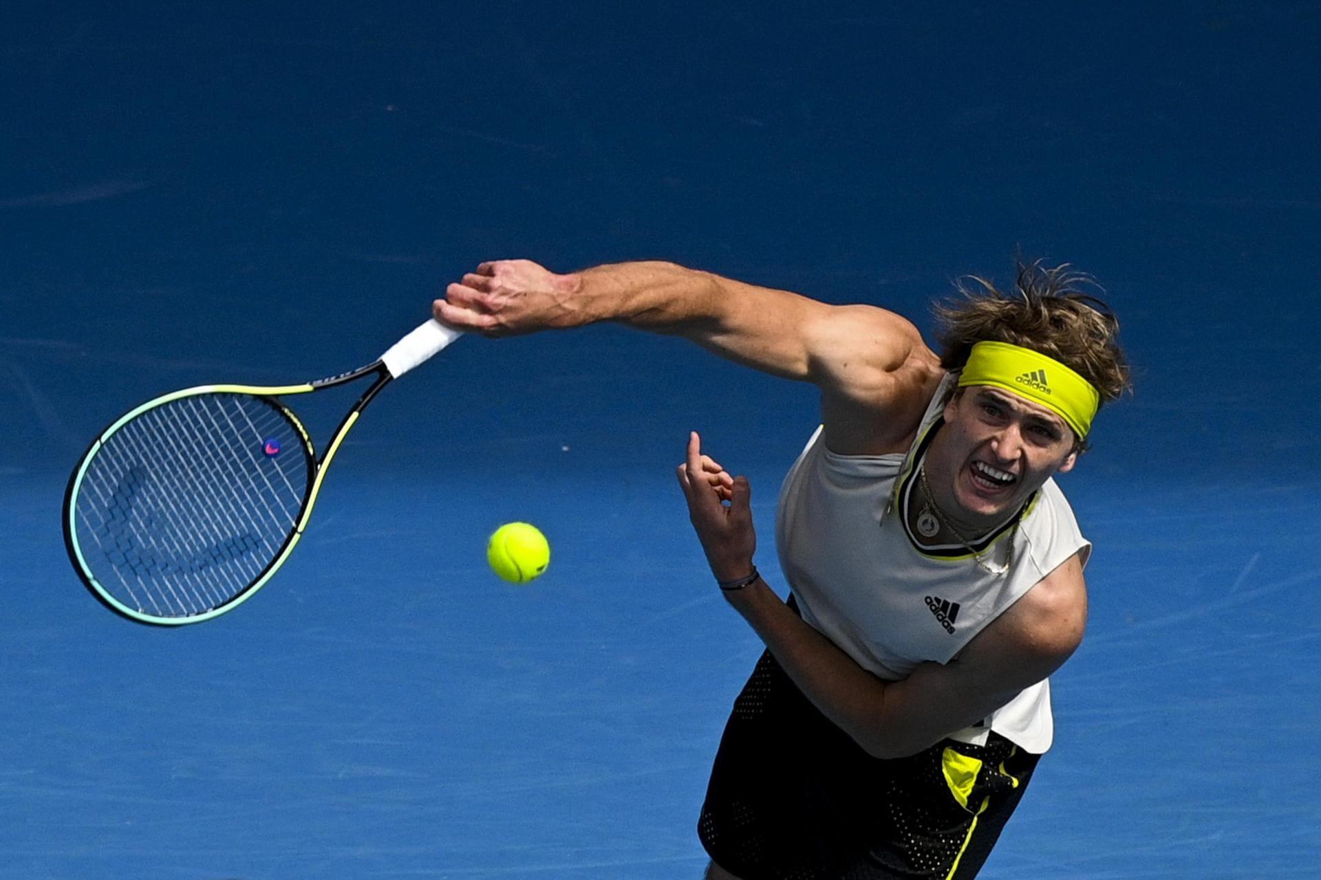 Zverev als erster deutscher Profi in Melbourne weiter Australian Open