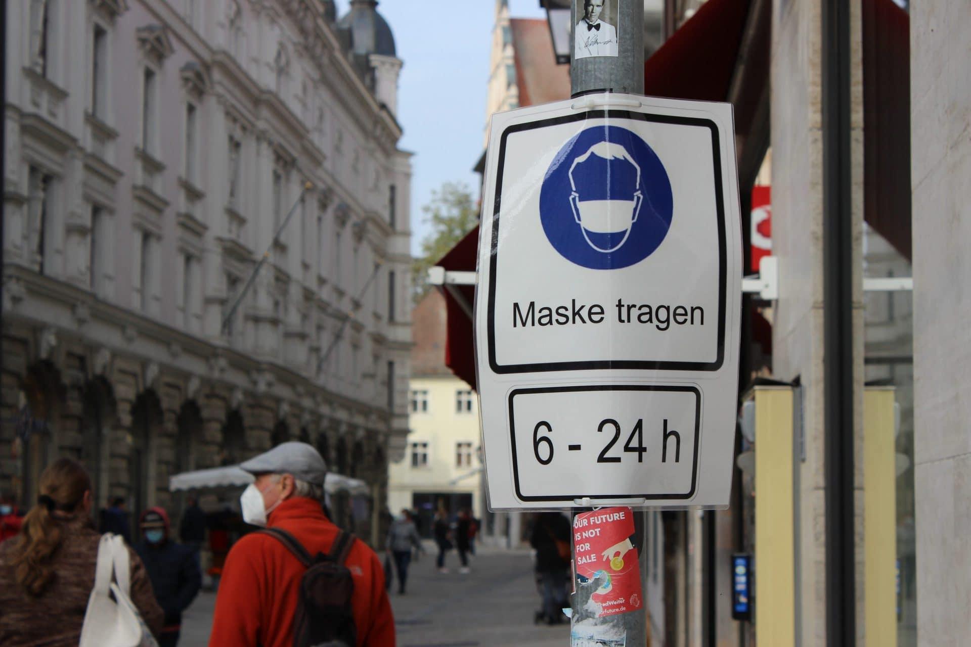 Maskenpflicht bleibt in Regensburger Altstadt Freistaat lehnt Antrag der Stadt ab