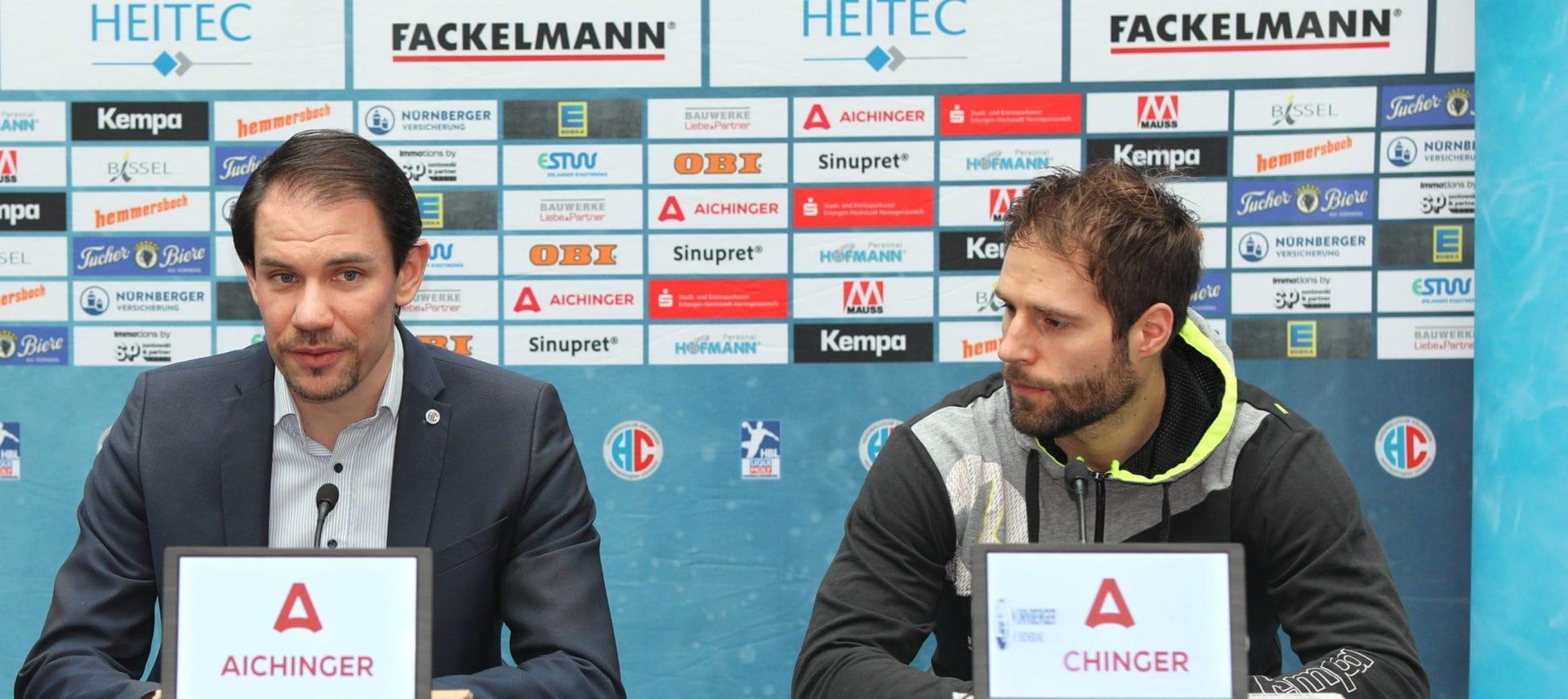 Handball: HC Erlangen und Nico Büdel verlängern Vertrag Auf beiden Seiten große Freude