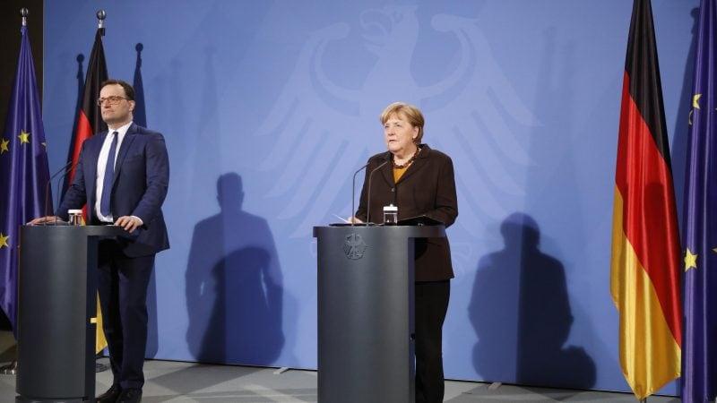 Merkel und Spahn