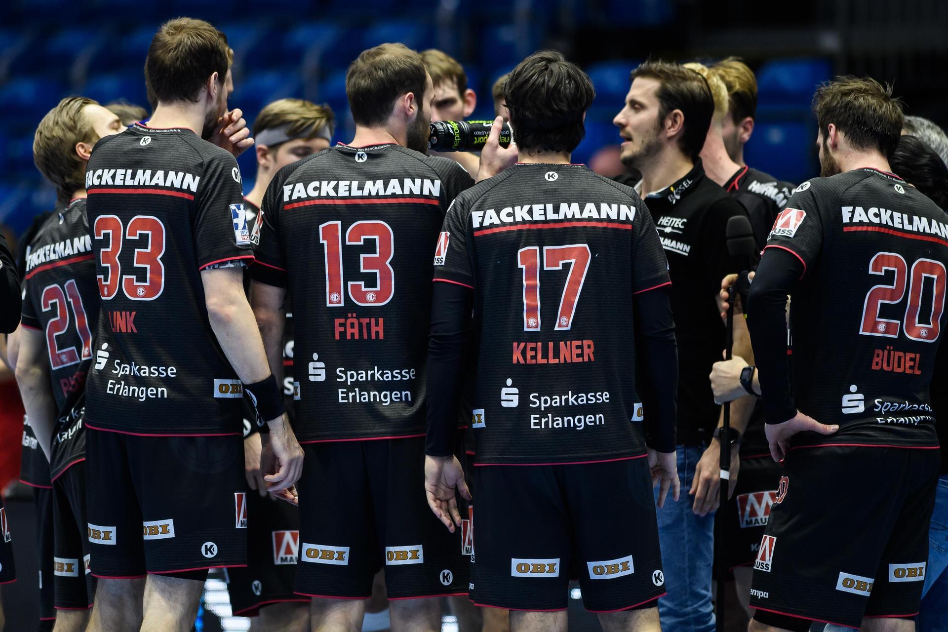 HC Erlangen in Quarantäne Spiele verschoben